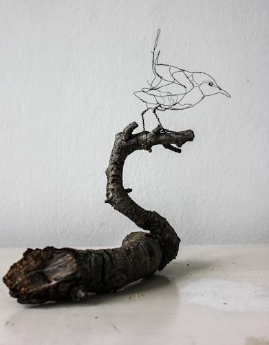 Gærdesmutte, -Gærdesmutte, Art Zandra Galleriet,