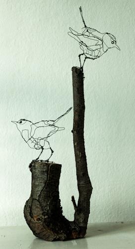 Fuglekonger, - Art Zandra Galleriet, Göteborg
