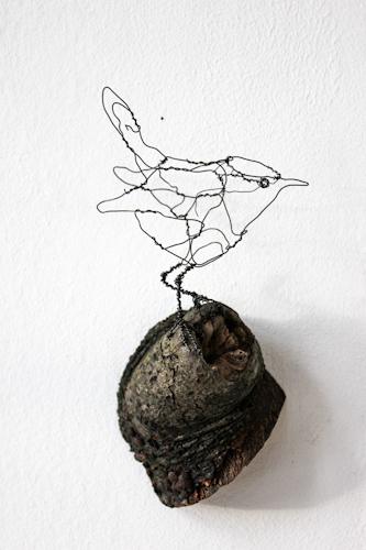 Gærdesmutte, Art Zandra Galleriet, Göteborg